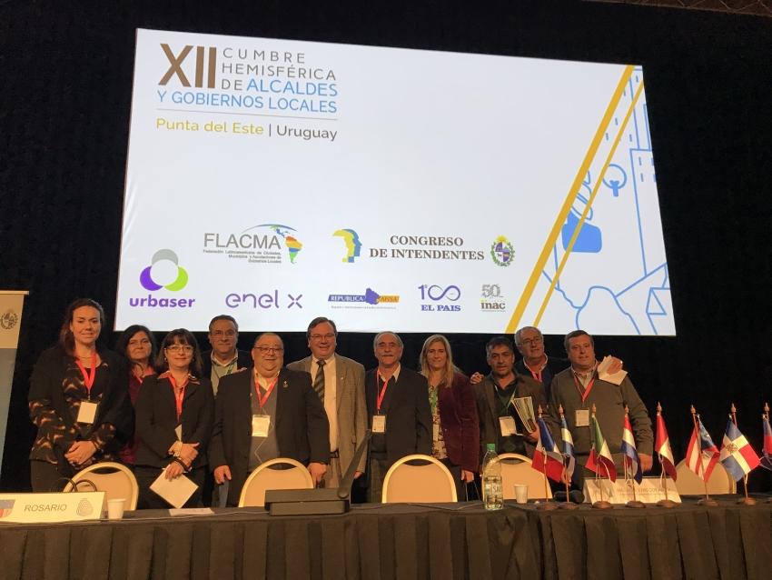 Se celebró el VII Plenario Extraordinario de Municipios en Punta del Este