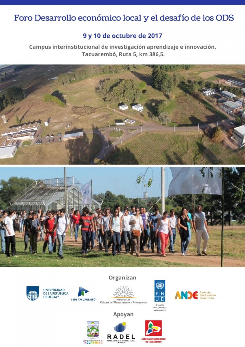 Plenario de Municipios presente en el Foro Desarrollo Económico Local en Tacuarembó
