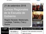 Escuela de Gobierno capacitará a Concejos Municipales de Maldonado, Rocha, Treinta y Tres y Lavalleja